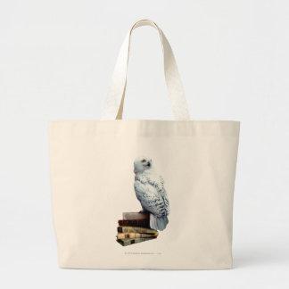 Bolsa Tote Grande Hedwig em livros