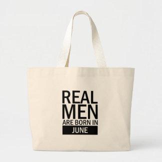 Bolsa Tote Grande Homens reais junho