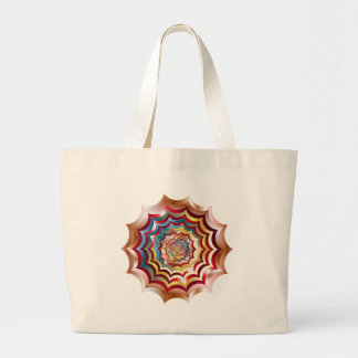Bolsa Tote Grande hypnotic da Web de aranha revitalized