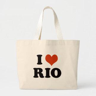 Bolsa Tote Grande I love Rio