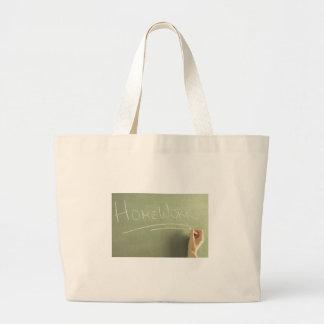 Bolsa Tote Grande Ideia Bookbag do presente do professor dos