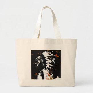 Bolsa Tote Grande Indiano do nativo americano