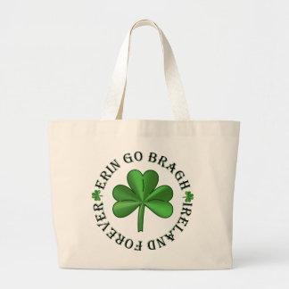Bolsa Tote Grande Ireland para sempre