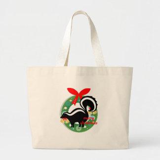 Bolsa Tote Grande jaritataca do Feliz Natal