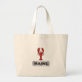 Bolsa Tote Grande Lagosta de Maine