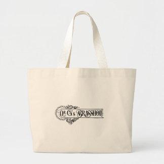 Bolsa Tote Grande Logotipo de Brasshole