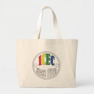 Bolsa Tote Grande Logotipo de ICEC desde 1979