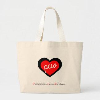 Bolsa Tote Grande Logotipo legal: Promova a parentalidade compassivo