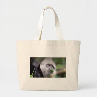 Bolsa Tote Grande Macaco africano