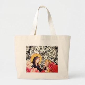 Bolsa Tote Grande madonna e criança
