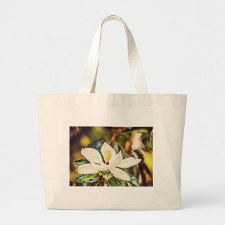 Bolsa Tote Grande Magnólia na flor