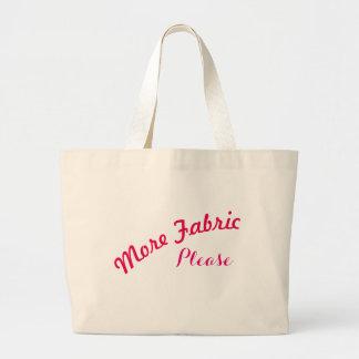 Bolsa Tote Grande Mais saco de FabricPlease