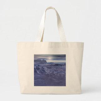 Bolsa Tote Grande Mar congelado de Netuno