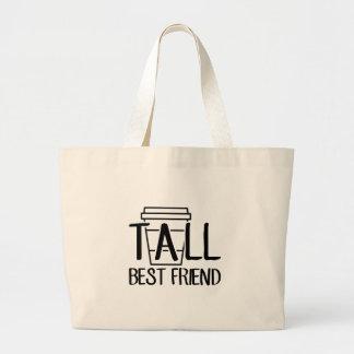 Bolsa Tote Grande Melhor amigo alto