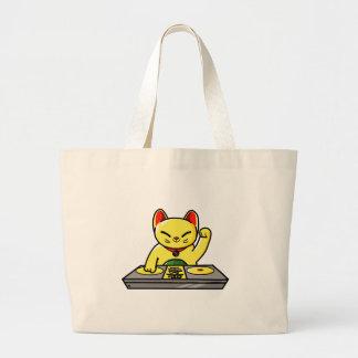 Bolsa Tote Grande Meow-sician