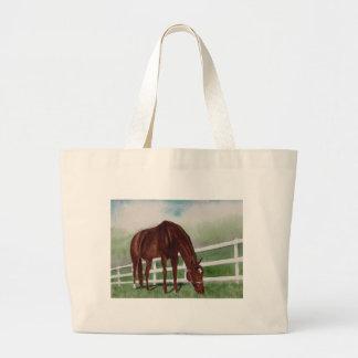 Bolsa Tote Grande Meu cavalo