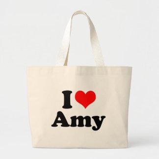 Bolsa Tote Grande Mim Amy do coração/amor