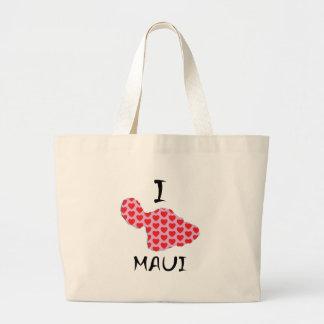 Bolsa Tote Grande Mim coração Maui