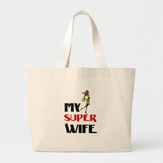 Bolsa Tote Grande minha esposa super
