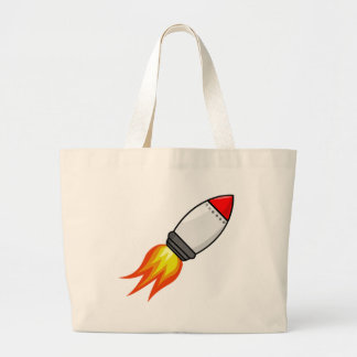 Bolsa Tote Grande Míssil de Rocket