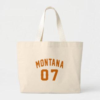 Bolsa Tote Grande Montana 07 designs do aniversário