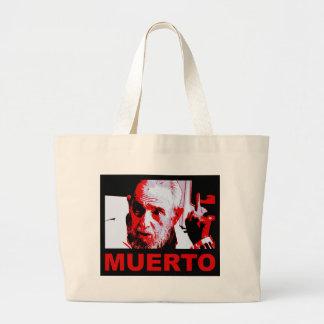 Bolsa Tote Grande Muerto de Castro (rojo)