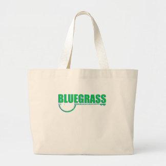 Bolsa Tote Grande Música de Bluegrass