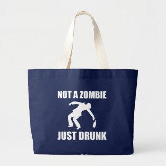 Bolsa Tote Grande Não zombi apenas bêbedo