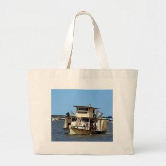 Bolsa Tote Grande Navio a vapor de pá, Goolwa, Austrália