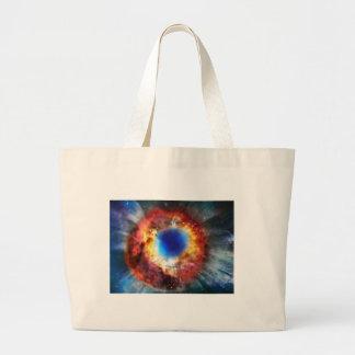 Bolsa Tote Grande Nebulosa da hélice