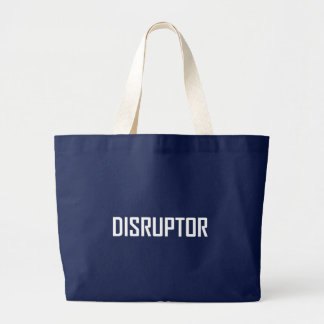Bolsa Tote Grande Negócio da tecnologia do Disruptor