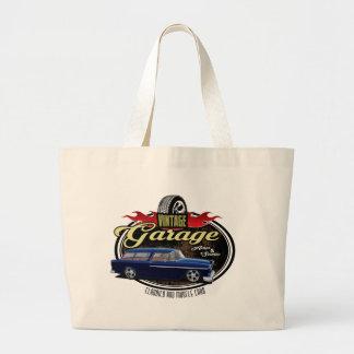 Bolsa Tote Grande Nómada da garagem do vintage