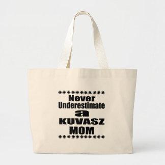 Bolsa Tote Grande Nunca subestime a mamã de KUVASZ