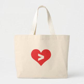 Bolsa Tote Grande O amor é maior