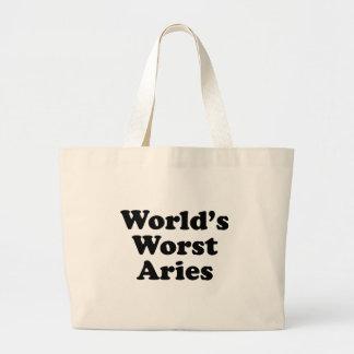 Bolsa Tote Grande O Aries o mais mau do mundo