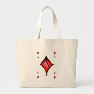 Bolsa Tote Grande O ás de diamantes por Tony Fernandes