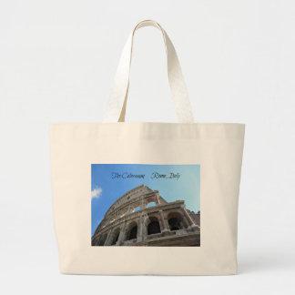 Bolsa Tote Grande O Colosseum em Roma, Italia