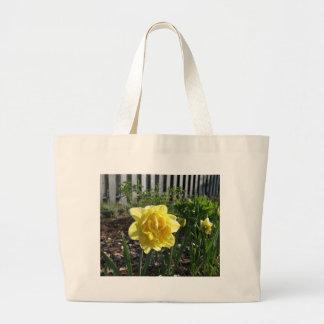 Bolsa Tote Grande O Daffodil bonito