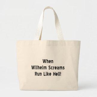 Bolsa Tote Grande O gritar de Wilhelm