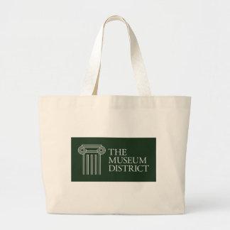 Bolsa Tote Grande O logotipo do distrito do museu
