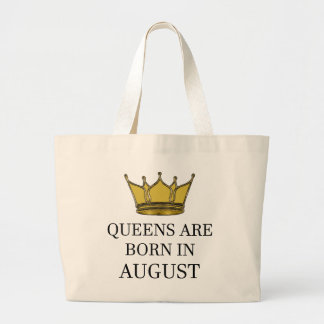 Bolsa Tote Grande O Queens é nascido em agosto