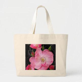 Bolsa Tote Grande o rosebud minúsculo abre