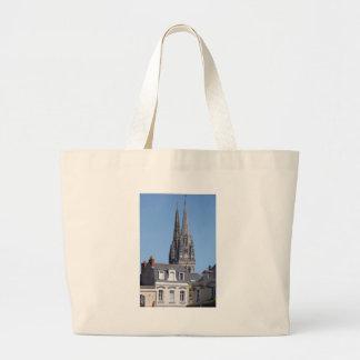 Bolsa Tote Grande O santo Maurício da catedral em irrita em France