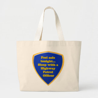 Bolsa Tote Grande Oficial de patrulha da estrada