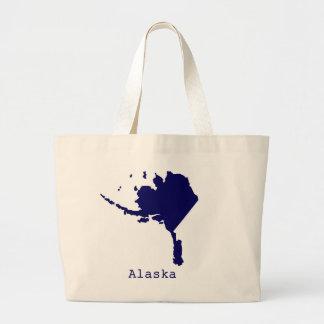 Bolsa Tote Grande Os Estados Unidos mínimos de Alaska