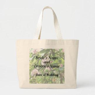 Bolsa Tote Grande Os rododendros estão em produtos do casamento da
