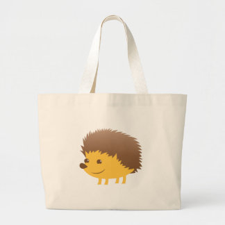 Bolsa Tote Grande ouriço pequeno bonito
