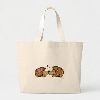 Bolsa Tote Grande Ouriços no amor