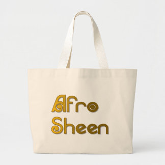 Bolsa Tote Grande Ouro de Sist- do brilho do Afro