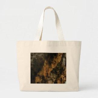 Bolsa Tote Grande ouro e pedra preta